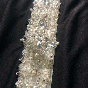 Wedding Dress Belt worn once